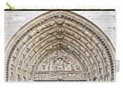 The Judgement Portal Of Notre Dame De Paris Carry-all Pouch