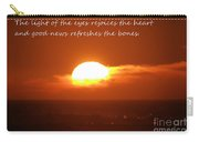 The Light Of The Eyes Carry-all Pouch