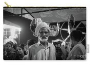 The Many Shades Of Delhi - Turbaned Man Carry-all Pouch