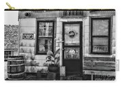 The Old Country Store Black And White Carry-all Pouch