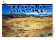 The Painted Hills Mitchell Oregon Carry-all Pouch