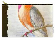 The Passenger Pigeon  Carry-all Pouch