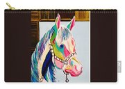 The Pink Horse Carry-all Pouch