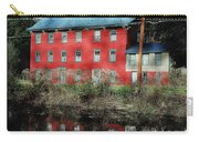 The Red House Along The Autumn Canal Carry-all Pouch
