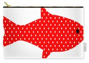 The Red Polka Dot Fish Carry-all Pouch
