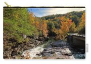 The Sinks On Little River Road In Smoky Mountains National Park Carry-all Pouch