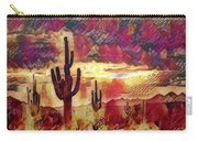 The Sonoran Saguaro  Carry-all Pouch