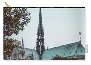 The Spire - Cathedral Of Notre Dame Paris France Carry-all Pouch