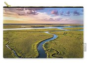 The Spit Sullivan's Island Carry-all Pouch by Donnie Whitaker
