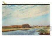 The Susaa River At Naestved, Denmark Carry-all Pouch