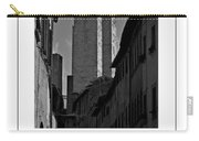 The Twin Towers Of San Gimignano, Italy Poster Carry-all Pouch
