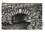 The Underpass Black And White Carry-all Pouch
