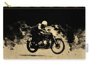 The Vintage Motorcycle Racer Carry-all Pouch