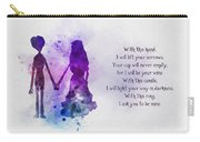 The Wedding Vows Carry-all Pouch