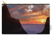 The Window At Sunset, Big Bend National Carry-all Pouch