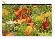The World Laughs In Flowers - Poppies Carry-all Pouch