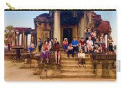 They Come To See Angkor Wat, Siem Reap, Cambodia Carry-all Pouch