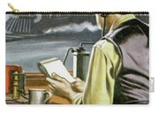 Thomas Edison, The Railway Telegraphist  Carry-all Pouch