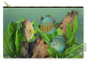 Three Discus Fish Carry-all Pouch