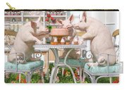 Three Little Pigs And The Birthday Cake Carry-all Pouch
