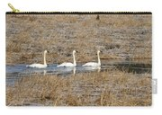 Three Trumpetor Swans 0629 Carry-all Pouch