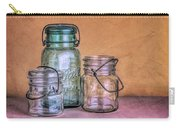Three Vintage Ball Jars Carry-all Pouch