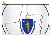 Thumbs Up Massachusetts Carry-all Pouch