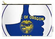 Thumbs Up Oregon Carry-all Pouch