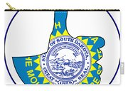Thumbs Up South Dakota Carry-all Pouch