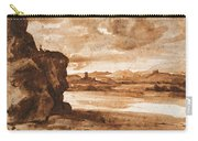 Tiber Landscape North Of Rome Wi  Carry-all Pouch