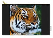 Tigers Mascot 2 Carry-all Pouch
