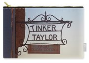 Tinker Taylor Sign Carry-all Pouch