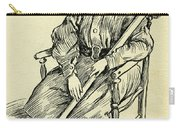 Tiny Tim From A Christmas Carol By Charles Dickens Carry-all Pouch