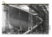 Titanic In Belfast Dry Dock 1911 Carry-all Pouch