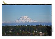 Mt. Rainier From Olympia Washington Carry-all Pouch