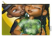 Toon Couple In Love Carry-all Pouch
