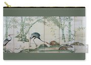 Top Quality Art - Cranes Pines And Bamboo Carry-all Pouch