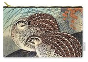 Top Quality Art - Moon And  Quail Carry-all Pouch