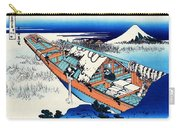 Top Quality Art - Mt,fuji36view-joshu Ushibori Carry-all Pouch