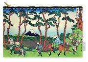 Top Quality Art - Tokaido Hodogaya Carry-all Pouch