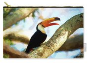 Toucan On A Tree Carry-all Pouch