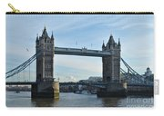 Tower Bridge At Afternoon In London Carry-all Pouch