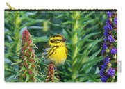 Townsend's Warbler  Carry-all Pouch by Christy Pooschke