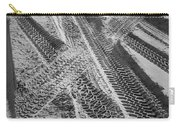 Tracks In The Sand Carry-all Pouch