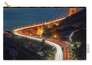 Traffic Racing Over The Golden Gate Bridge Carry-all Pouch