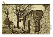 Tree And Ruins Carry-all Pouch