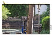 tree lamp and old water pump in Cochem Germany Carry-all Pouch
