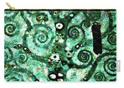 Tree Of Life Abstract Expressionism Carry-all Pouch