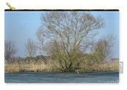 Tree On Frozen Lake Carry-all Pouch