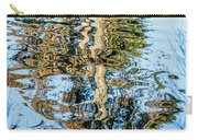 Tree Reflection Abstract Carry-all Pouch by Kate Brown